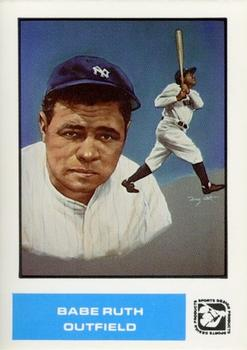 1984-85 Sports Design Products #47 Babe Ruth Front