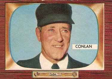 1955 Bowman #303 Jocko Conlan Front