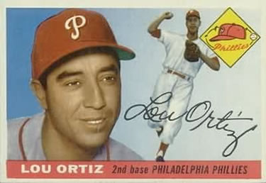 1955 Topps #114 Lou Ortiz Front