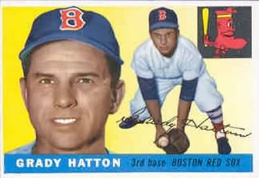 1955 Topps #131 Grady Hatton Front