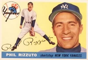 1955 Topps #189 Phil Rizzuto Front