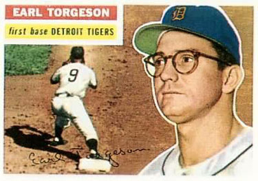 1956 Topps #147a Earl Torgeson Front
