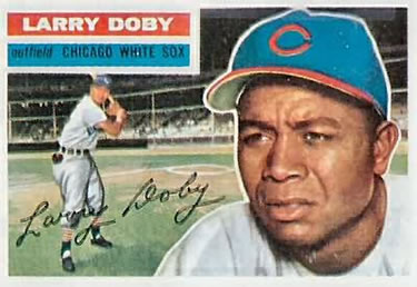 1956 Topps #250 Larry Doby Front