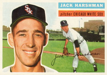 1956 Topps #29a Jack Harshman Front