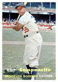 1957 Topps #210 Roy Campanella Front