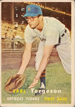 1957 Topps #357 Earl Torgeson Front