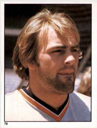 1981 Topps Stickers #78 Kirk Gibson Front
