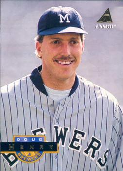 1994 Pinnacle #283 Doug Henry Front