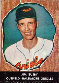 Image result for jim busby 1961 baltimore orioles