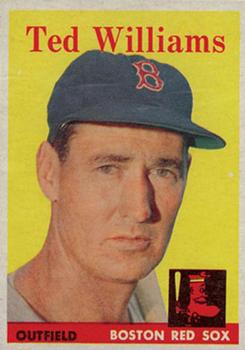 1958 Topps #1 Ted Williams Front