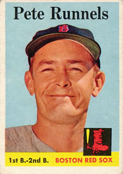 1958 Topps #265 Pete Runnels Front