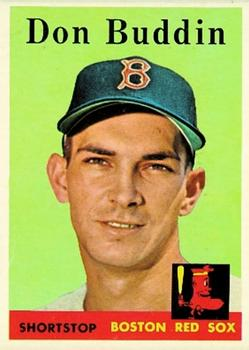 1958 Topps #297 Don Buddin Front