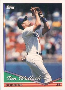 1994 Topps #143 Tim Wallach Front