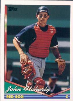 1996 Topps #291 John Flaherty Baseball Cards Detroit Tigers