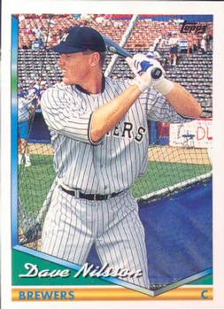 1994 Topps #548 Dave Nilsson Front
