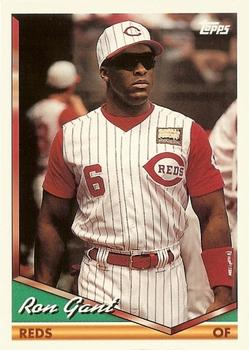 1994 Topps Traded #55T Ron Gant Front