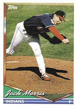 1994 Topps Traded #36T Jack Morris Front