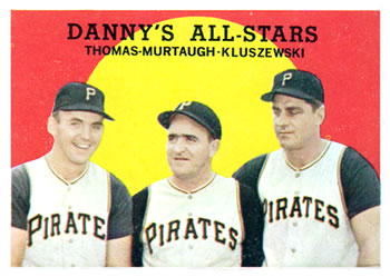 1959 Topps #17 Danny's All Stars Front