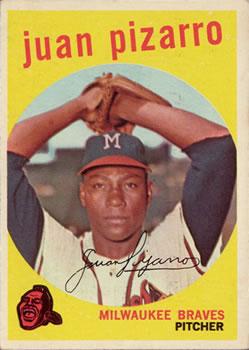 1959 Topps #188 Juan Pizarro Front