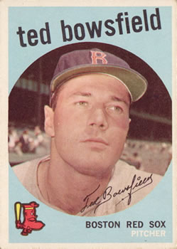 1959 Topps #236 Ted Bowsfield Front