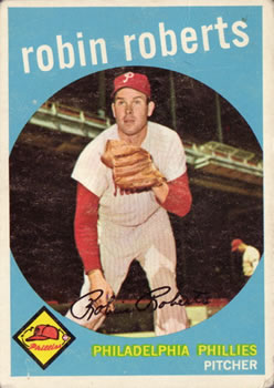 1959 Topps #352 Robin Roberts Front