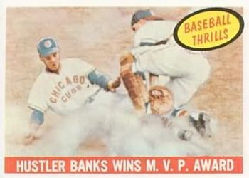 1959 Topps #469 Ernie Banks Front