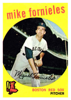 1959 Topps #473 Mike Fornieles Front