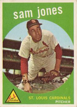 1959 Topps #75 Sam Jones Front