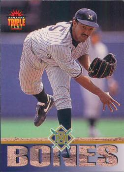 1994 Triple Play #51 Ricky Bones Front