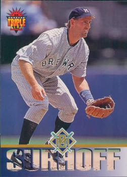 1994 Triple Play #58 B.J. Surhoff Front