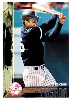 1995 Bowman #56 Jorge Posada Front
