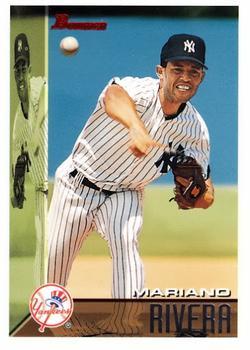 1995 Bowman #165 Mariano Rivera Front