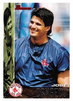 1995 Bowman #417 Jose Canseco Front