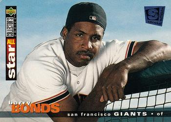 1995 Collector's Choice SE #105 Barry Bonds Front