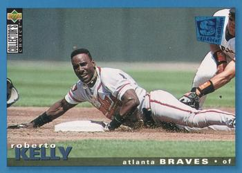 1995 Collector's Choice SE #61 Roberto Kelly Front