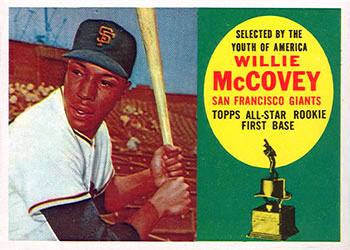 1960 Topps #316 Willie McCovey Front