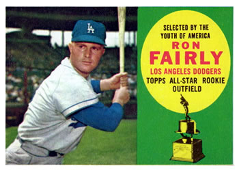 1960 Topps #321 Ron Fairly Front