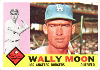 1960 Topps #5 Wally Moon Front