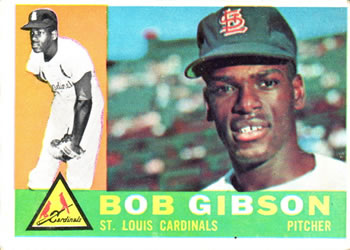 1960 Topps #73 Bob Gibson Front