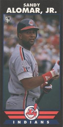 1993 Diamond Marks Bookmarkers #NNO Sandy Alomar Jr. Front