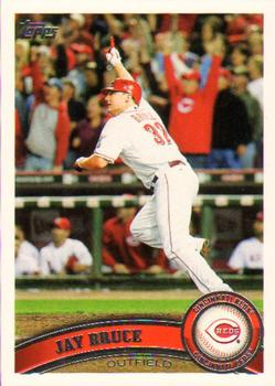 2011 Topps #191 Jay Bruce Front