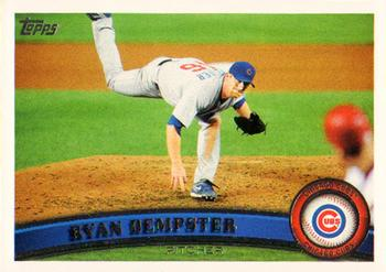 2011 Topps #38 Ryan Dempster Front