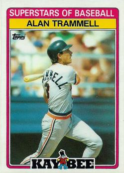 1989 Topps Kay-Bee Superstars of Baseball #30 Alan Trammell Front