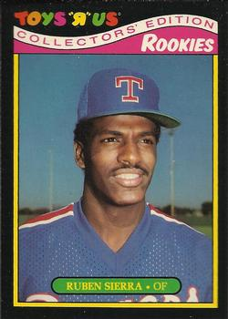 1987 Topps Toys 'R' Us Rookies #24 Ruben Sierra Front
