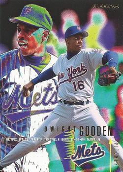 1995 Fleer #369 Dwight Gooden Front