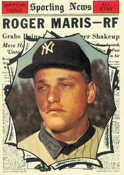 1961 Topps #576 Roger Maris Front