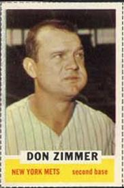 1962 Bazooka #NNO Don Zimmer Front