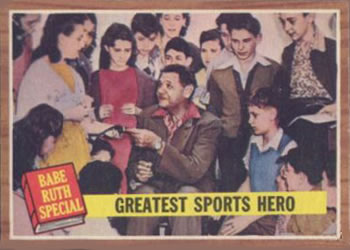 1962 Topps #143 Greatest Sports Hero Front