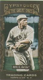 2011 Topps Gypsy Queen - Great Ones Mini #GO2 Babe Ruth Front