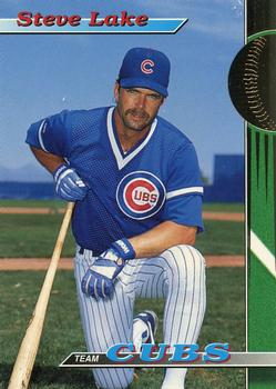 1993 Stadium Club Chicago Cubs #10 Steve Lake  Front